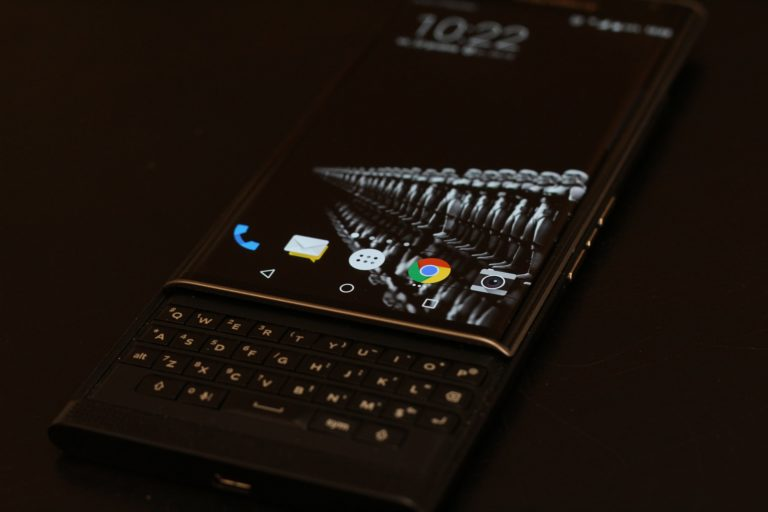 Blackberry mobile device security